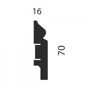 Плинтус AP05 под покраску