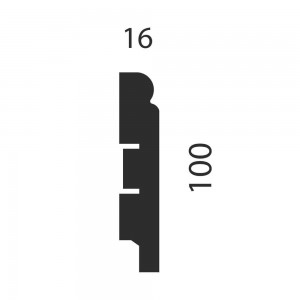 Плинтус AP76 под покраску